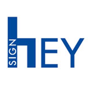 Hey Sign Logo